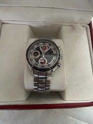 OMEGA Speedmaster Day-Date Chronograph Men's Black/Red Watch - 3210.52.00