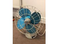 Vintage Veritys Limit oscillating desk fan