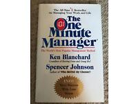 Brand new book: The One Minute Manager