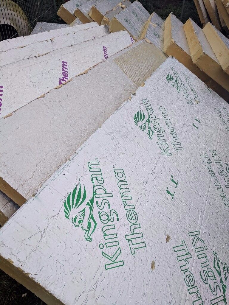 kingspan, cellotex. ecotherm, recticel insulation boards 8'x4' 150mm