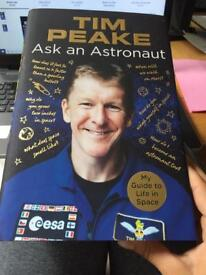 Book Ask an Astronaut by Tim Peake