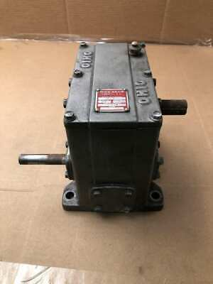 Ohio Gear D-3 Right Angle Worm Gear Speed Reducer Gearbox 501