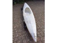 Kayak with paddle for sale