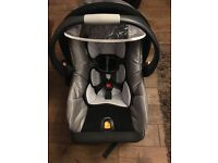 Chicco car seat and base not isofix