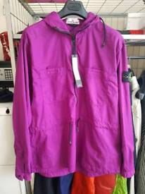 Stone Island Tela GD jacket in purple