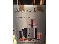ANDREW JAMES JUICER