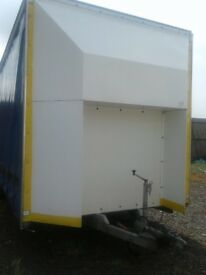 Kari-tek twin axel trailer