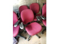 Assorted Recycled Office Chairs to clear