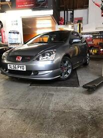 2006 56 plate Honda Civic Type R premier edition