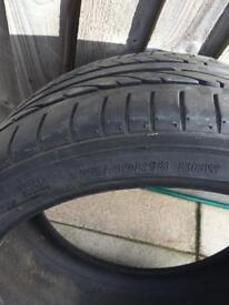 Tyre - Bridgestone Potenza run flat 225x40x18