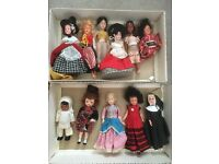 Set of 11 Antique Dolls