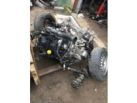 Renault kangoo 2013 1.5 Engine gearbox Complete Front