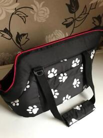 Small dog bag/carrier brand new