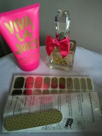 Juicy couture 30ml gift set with makeup bag