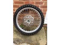 Suzuki rmz wheels