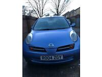 Excellent value -5 door 04 plate Automatic Nissan Micra with Long MOT and recent full service