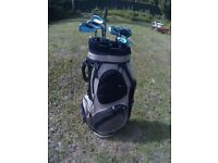 Golf Clubs Irons Set & Bag.