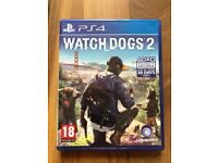 Watchdogs 2 , Ps4 , as new ! Price stands , no offers !