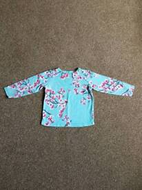 12 - 18 mths Joules girl long sleeve top
