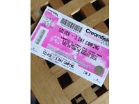 3 day silver camping ticket to creamfeilds 2016. Can meet in either Liverpool or Cheshire. £200 ono