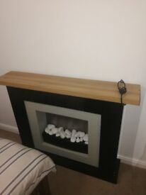 Modern Gloss Fireplace