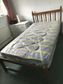 Single Bed Extra Wide 3ft 6 ins