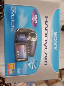 Sony handy cam camcorder