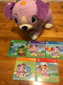 Leapfrog interactive Violet who reads 5 different books