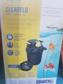 POND PUMP Laguna Clearflo 3000L - Complete Pump, UV and Filter Kit