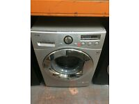 LG 8KG SILVER WASHING MACHINE RECONDITIONED