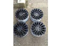 Mercedes 16 Inch Black Wheels in West London Area