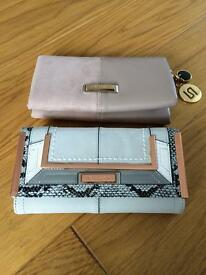 REDUCED- Two river island women's purses/wallets - both in very good condition!