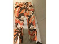 Dolce and Gabbana Retro psychedelic pair of trousers size 44 it