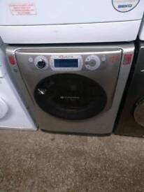 ID 127 Hotpoint Silver/Grey 11kg Washing Machine, FREE LOCAL DELIVERY AND INSTALL
