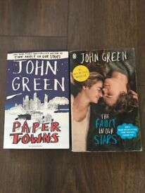 John green paper towns & the fault in our stars
