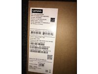 Lenovo red ideapad brand new in box never used with charger. 32GB 100S micro SD