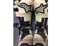 Motocross Boots , Alpinestar Tech 10 UK size 9