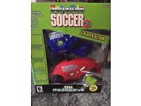 Sensible soccer TV mega drive