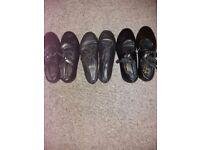 3 x kids dance shoes