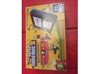 nintendo 2ds in great condition (super mario inbuilt)