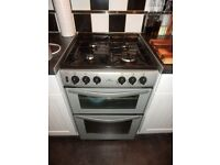 New World G55T Gas Cooker (Silver/Grey) - £20 - Collection Only