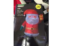 Inflatable Santa brand new