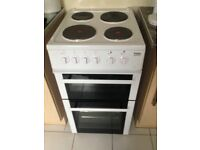 Electric cooker, 55 cms, white