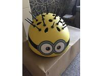 Minion Bike Helmet - medium