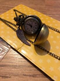 Harry Potter necklace watch