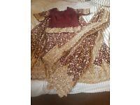 Indian wedding lengha