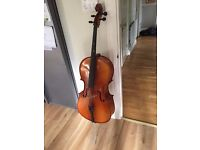 1/2 size Knight Cello with soft carry bag - SW London Surbiton Surrey Berks