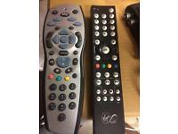 Sky and virgin media remote control