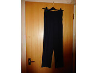 AMARANTO Navy Trousers size 10