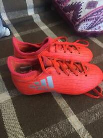 Adidas football boots kids size 11